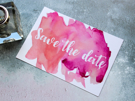 Wedding stationery timeline - what and when!