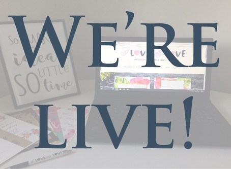 The day is here, we are live!