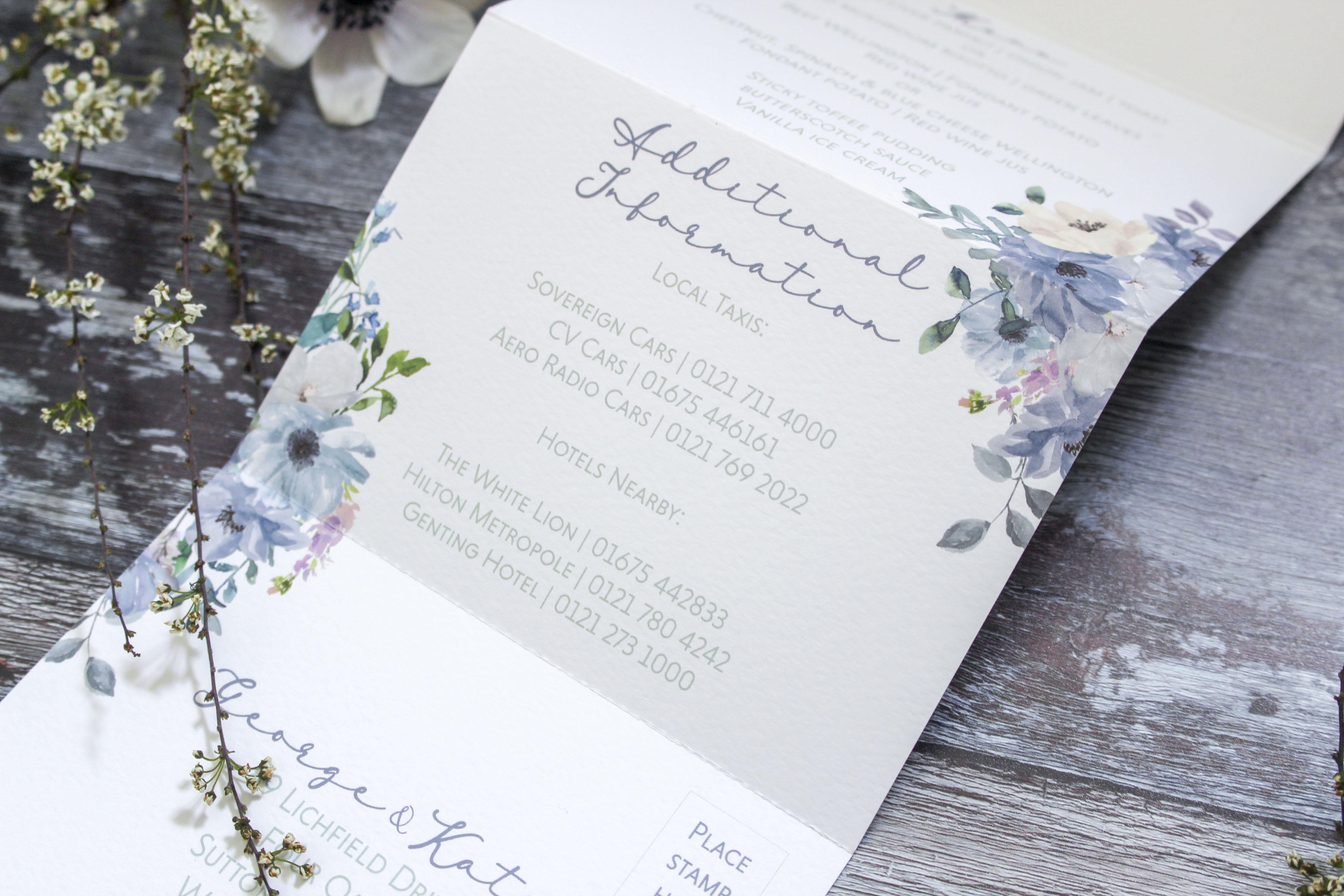 wedding invitations west midlands