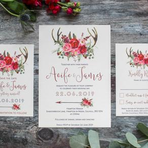 Wedding Invitations – Top Ten Tips!