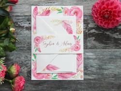 feather-wedding-invitation-bundle