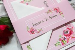 Rustic wedding invite bundle