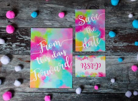 Unique wedding invitations | choosing something 'a bit different'!
