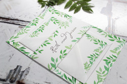 green-leaves-wedding-stationery-set