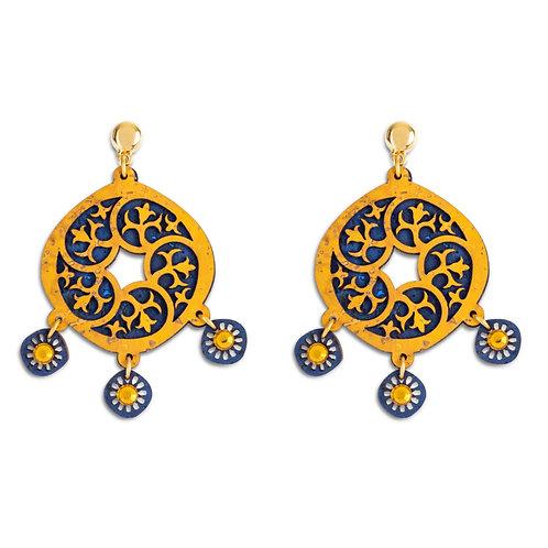 Oorbellen - Marokkanse geometrie