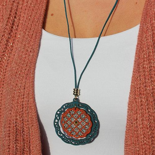 Ketting geinspireerd op Marokkaanse geometrie