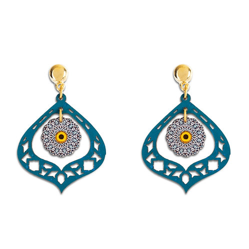 Earrings - Moroccan geometry