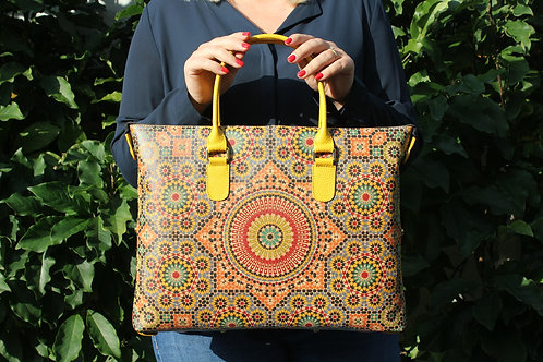 Handtas - Marokkaanse geometrie