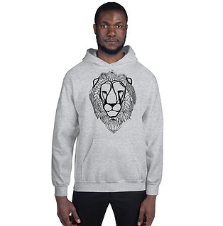 Lion with Proteas Unisex Hoodie