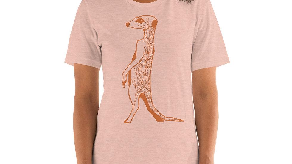 Orange meerkat with rooibos Short-Sleeve Unisex T-Shirt