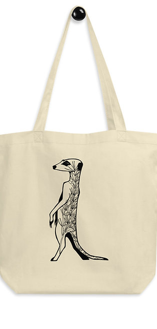 Meerkat with Rooibos Eco Tote Bag