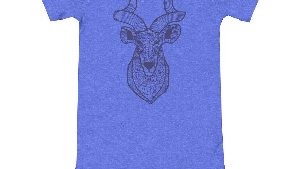 Kudu proteas - blue print babygrow