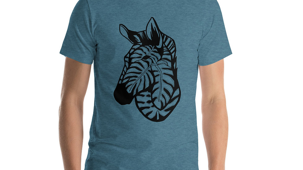 Zebra and Delicious Monster Unisex T-Shirt