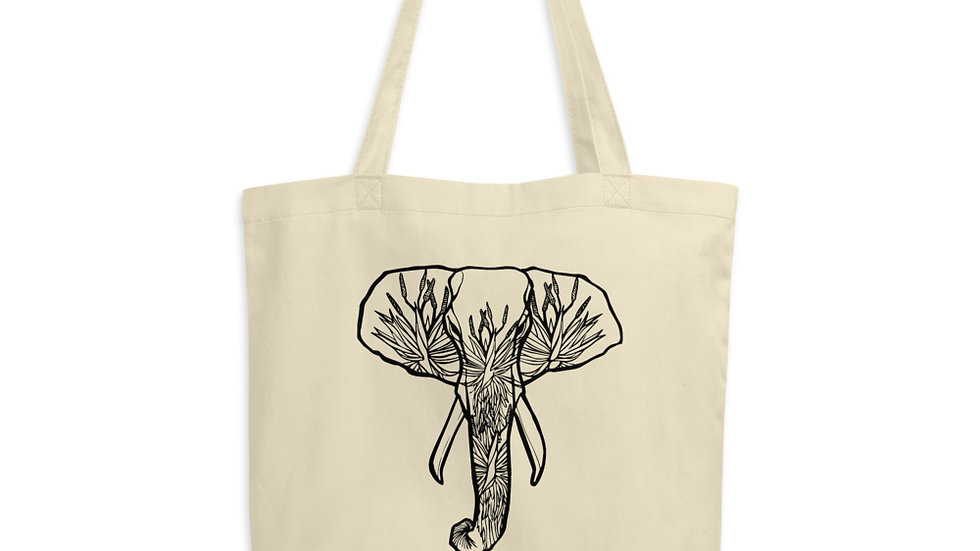 Elephant with Aloes Eco Tote Bag