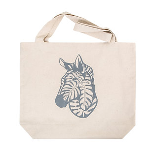Tote bag - zebra and delicious monster