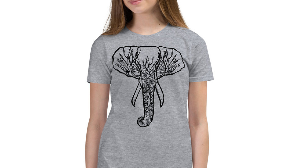 Kids Ellie with Aloes Short Sleeve T-Shirt (age 9 - 12)