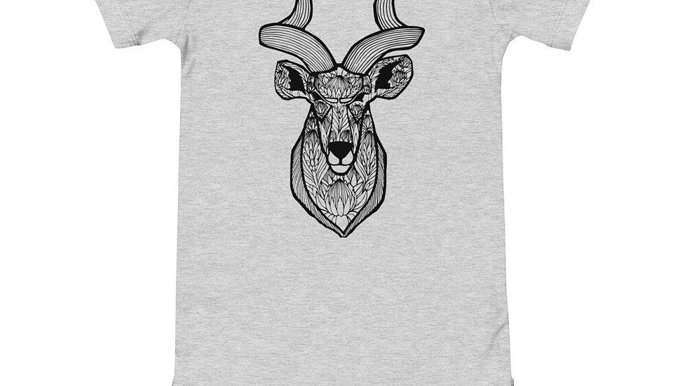 Kudu proteas - black print babygrow
