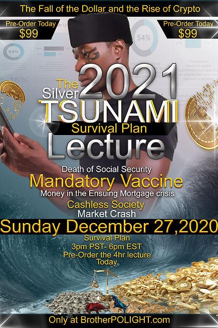The Silver TSUNAMI 2021 Pre order  today