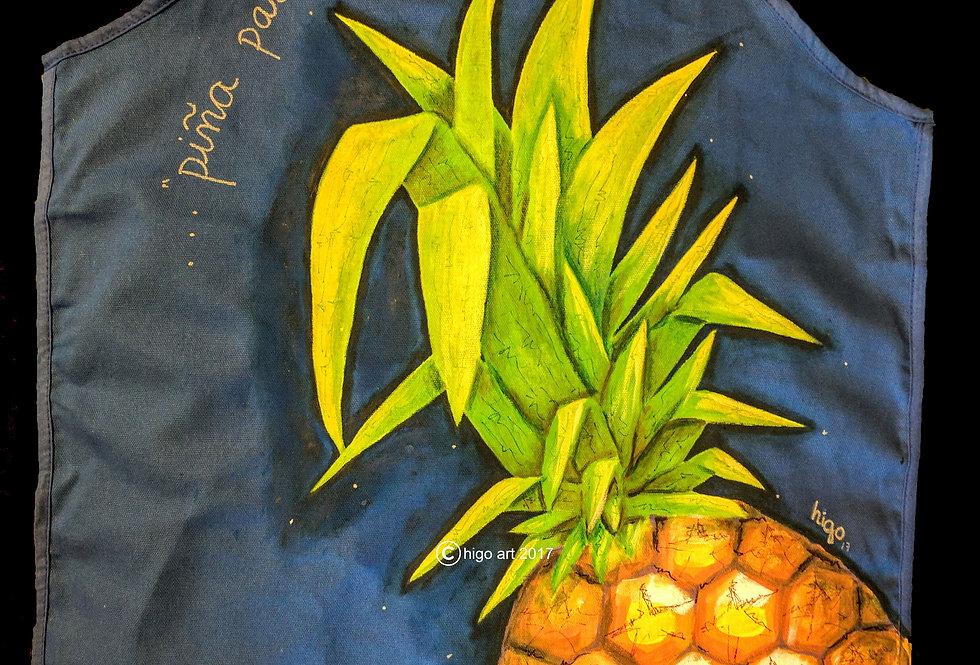"""Pineapple or Piña para la Niña"" apron"