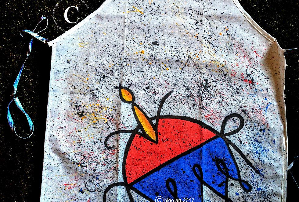 """Higollock"" apron"