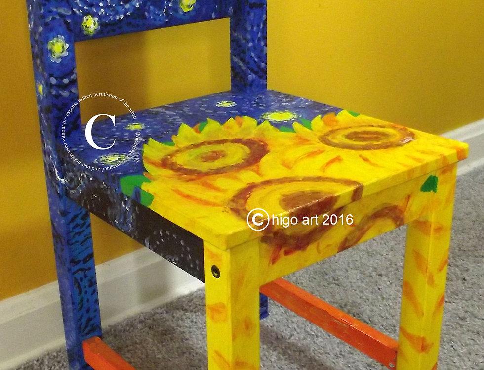 """""""Starry Sunflower"""" chair"""