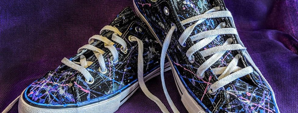 Sneakers Pollock Style