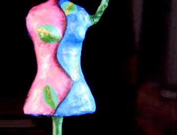 """""""Mannequin jewelry hanger"""""""