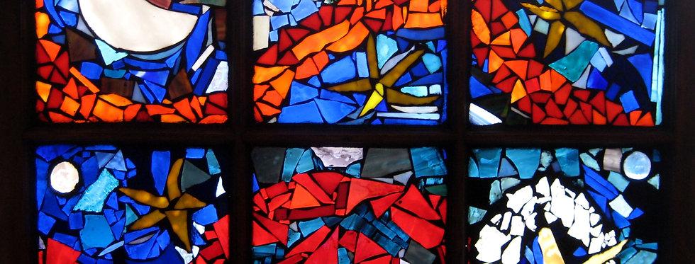 """""""Starry Stain Glass Window"""""""