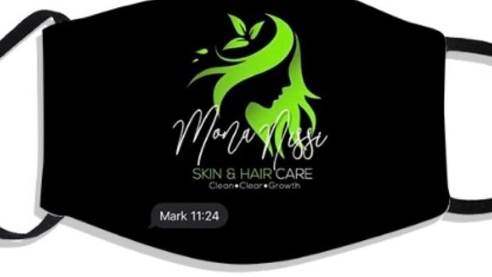 Mona Nissi Mask  🖤🟢