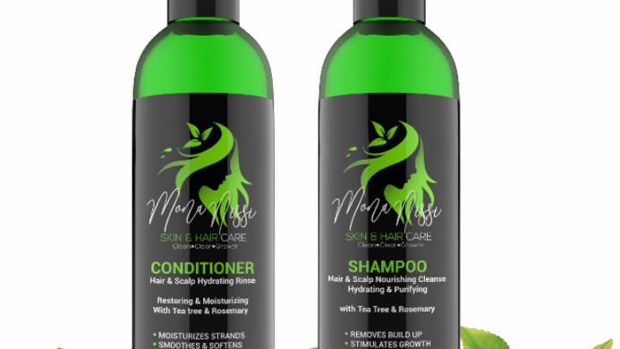 """Mona Nissi Shampoo  & Conditioner  🖤🟢 """"pre-order"""""""