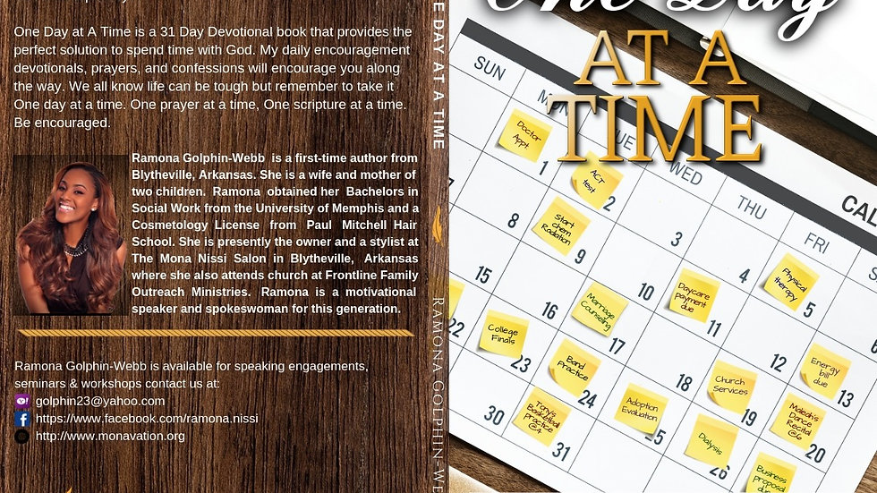 One Day At A Time 31 Day Devotional