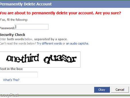 Farewell to Facebook
