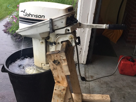 Old school outboard
