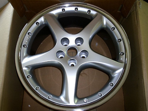 20in BBS Detroit XKR Front 9J Silver