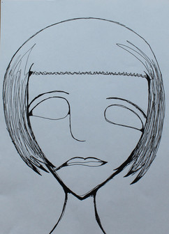 One line drawing - Photo and Drawing by, Isaiah James