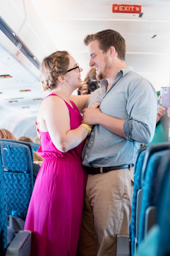 Inflight wedding - Photo by, Isaiah James