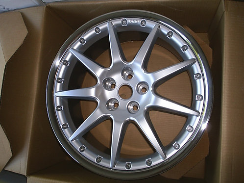 20in BBS Montreal XKR Front 9J Silver