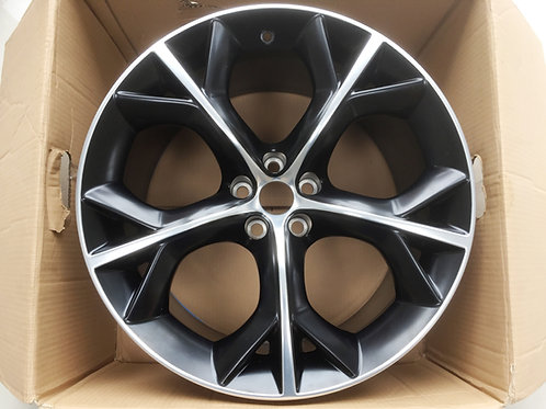 20in Storm F Type Rear 10.5J Black with Diamond Cut Finish