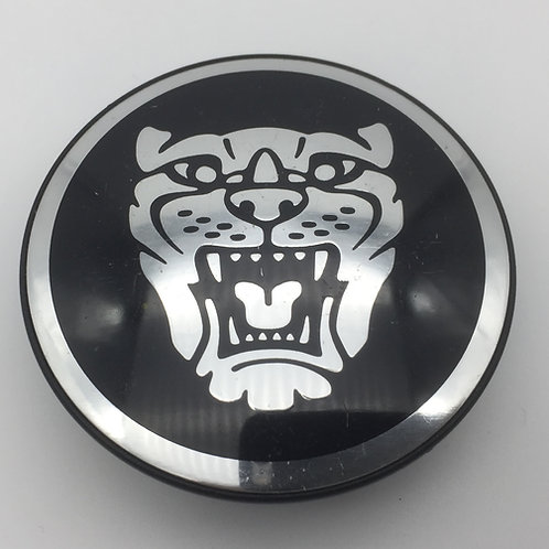 Centre Cap Badge - Black. Single