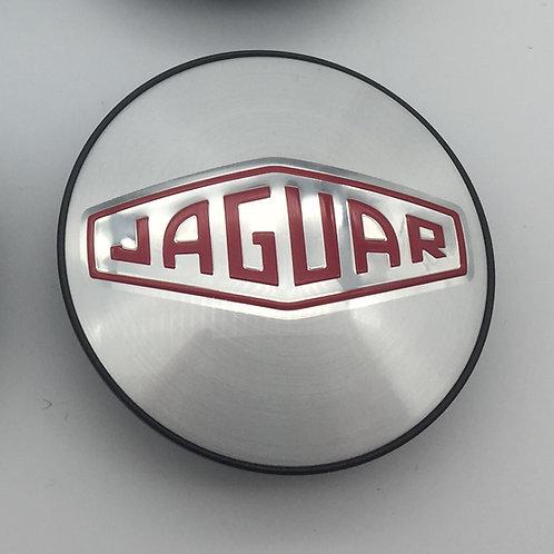 Cap Badge - Red Retro. Single