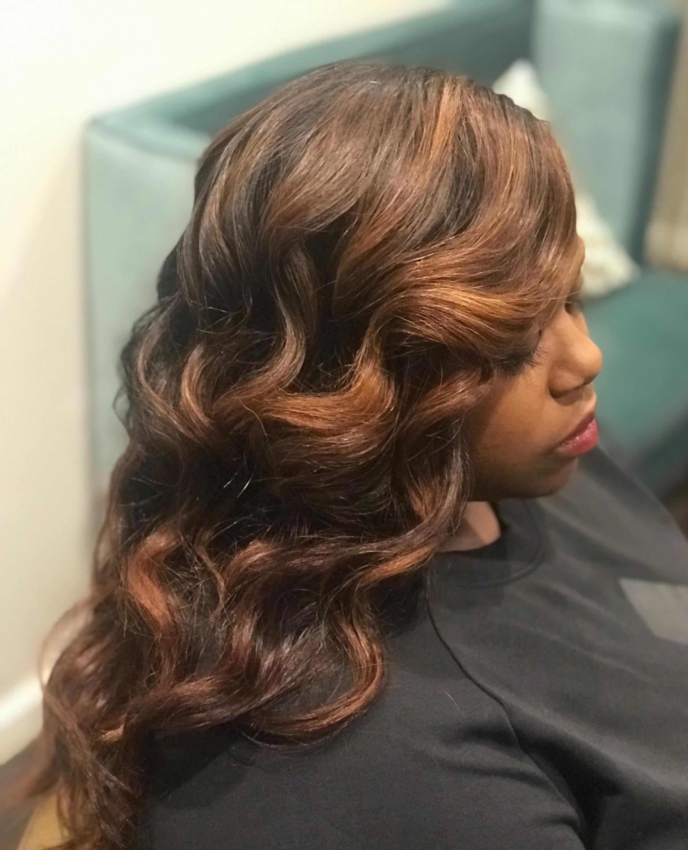 Wash & Braid + Wig Styling
