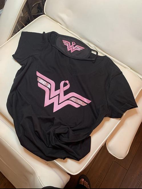Wonder Woman Warrior (breast cancer awareness month)