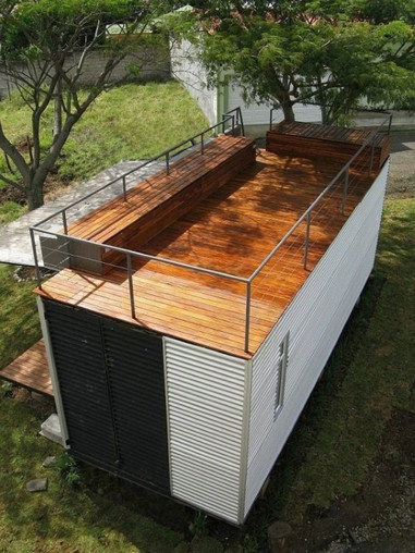 Habitation structure modulaire