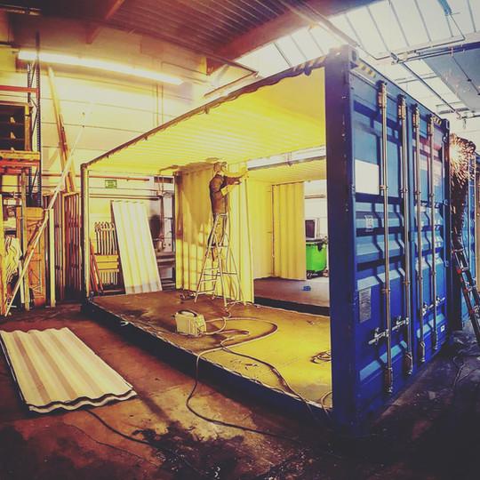 Container Aménagé Bureau Belgique
