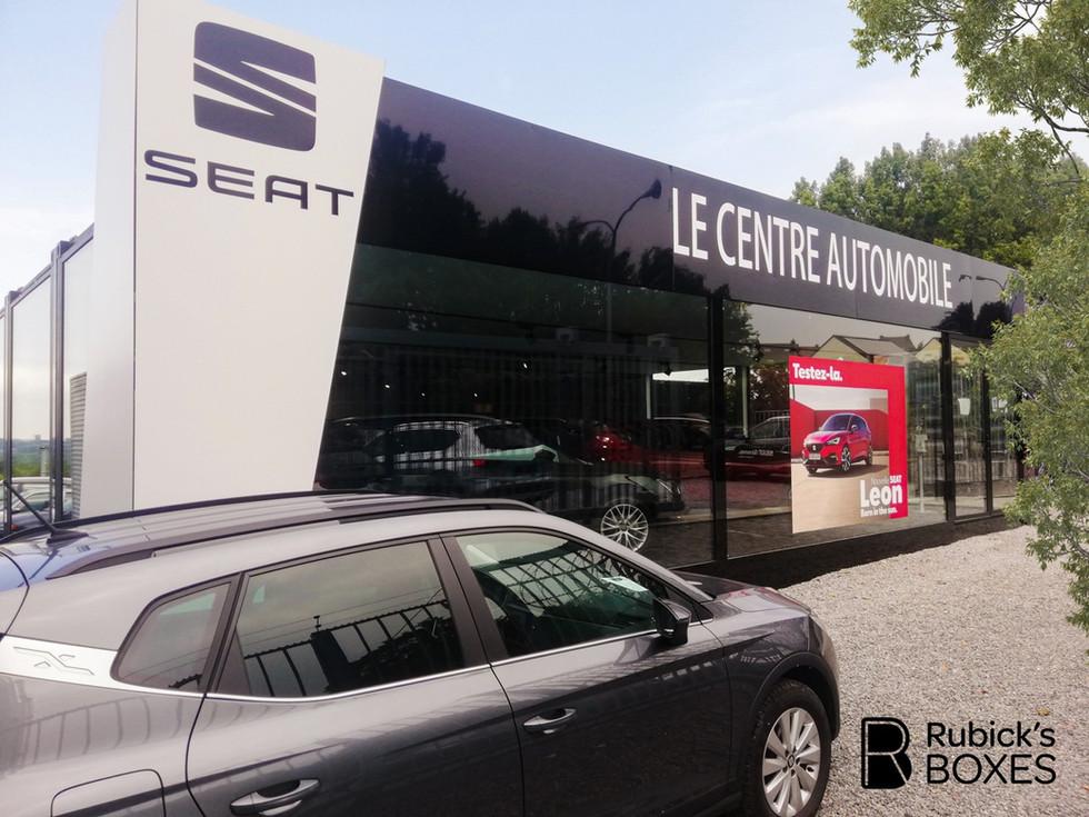 création-espace-showroom-container-belgique
