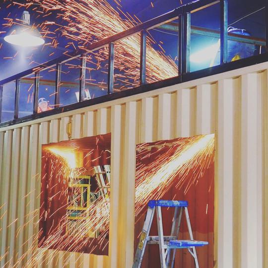 Extension maison container Belgique