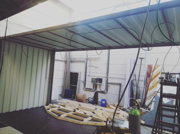 Rubick's Boxes-construction-showroom-container-aménagé-belgique