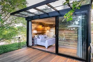 Extension habitation en container