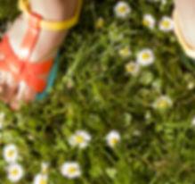 young-Mädchen-Tragen-Sandalen, -Summer-G