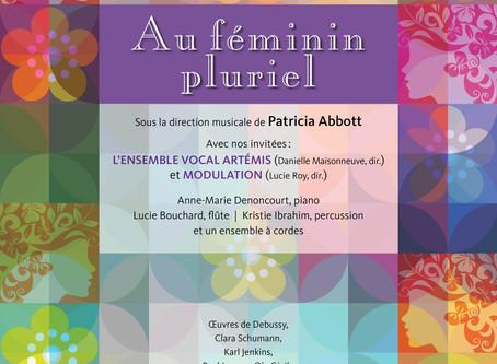 Grand concert Au féminin pluriel